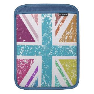 Capa De iPad Bandeira de união afligida colorido