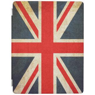 Capa de ipad britânica da bandeira de Union Jack