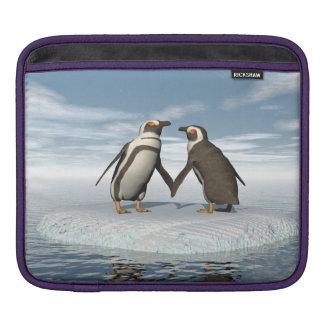Capa De iPad Casal dos pinguins