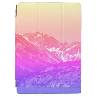 Capa de ipad cor-de-rosa das montanhas do verão