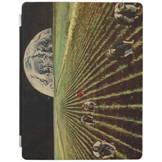 Capa de ipad da colagem de Lunarscape