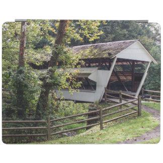 Capa de ipad da ponte coberta