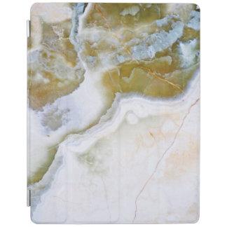 Capa de ipad de pedra natural do teste padrão