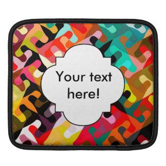 Capa De iPad Design colorido do abstrato das formas