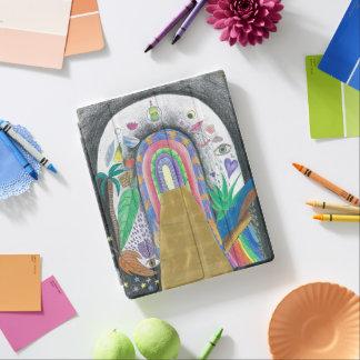 capa de ipad - design colorido do lápis