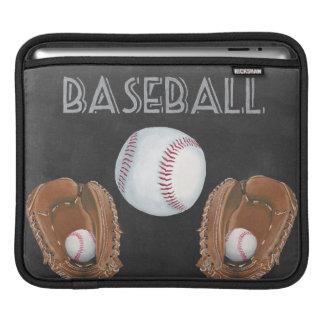 Capa De iPad Design do quadro do basebol do vintage