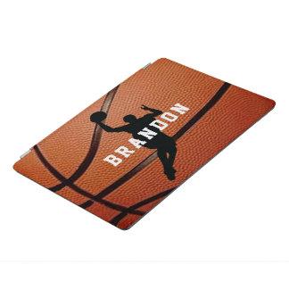 Capa de ipad do design do basquetebol