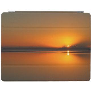 Capa de ipad do nascer do sol da praia de