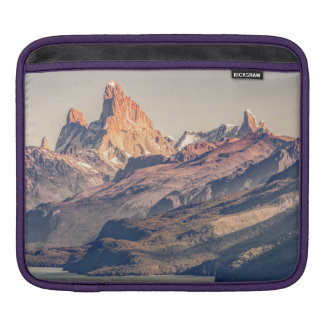 Capa De iPad Fitz Roy e montanhas de Poincenot Andes -