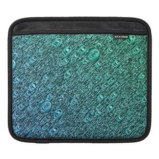 Capa De iPad Formas azuis e verdes abstratas