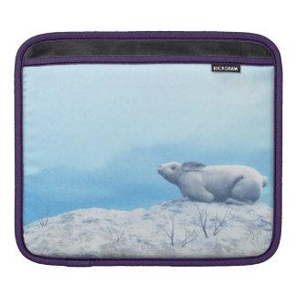 Capa De iPad Lebre ártica, lepus ártico, ou coelho polar