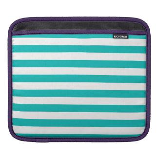Capa De iPad Listras horizontais do Aqua