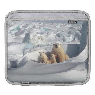Capa De iPad Luva ártica do iPad dos animais selvagens de Cubs