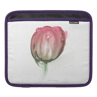 Capa De iPad Luva vermelha da tulipa