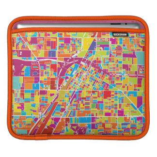 Capa De iPad Mapa de Las Vegas colorido, Nevada