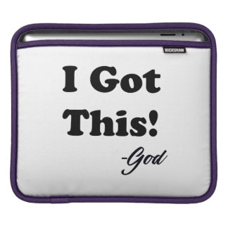 Capa De iPad Mensagem do deus