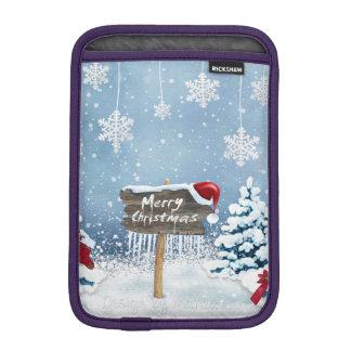 Capa De iPad Mini Arte do Natal - ilustrações do Natal