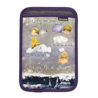 Capa De iPad Mini as mini fadas do iPad comemoram o ano novo