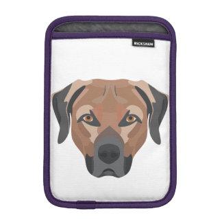 Capa De iPad Mini Cão Brown Labrador da ilustração
