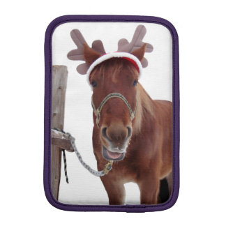 Capa De iPad Mini Cervos do cavalo - cavalo do Natal - cavalo