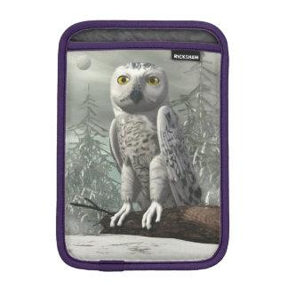 Capa De iPad Mini Coruja branca - 3D rendem