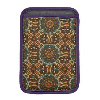 Capa De iPad Mini Design floral do teste padrão do abstrato da