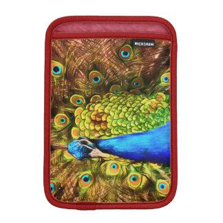 Capa De iPad Mini Pavão colorido