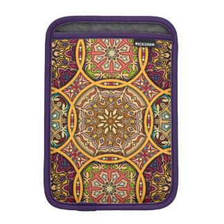 Capa De iPad Mini Retalhos do vintage com elementos florais da