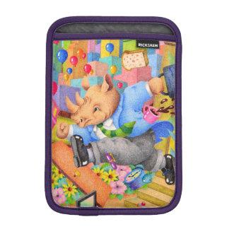 Capa De iPad Mini Rinoceronte ocupado