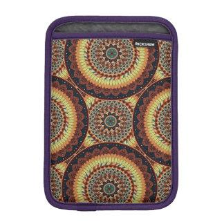 Capa De iPad Mini Teste padrão floral étnico abstrato colorido da