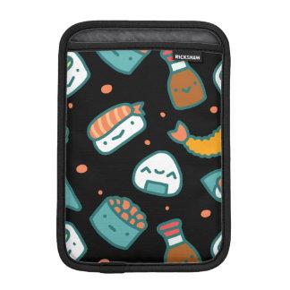 Capa De iPad Mini Teste padrão sem emenda feliz bonito do sushi no