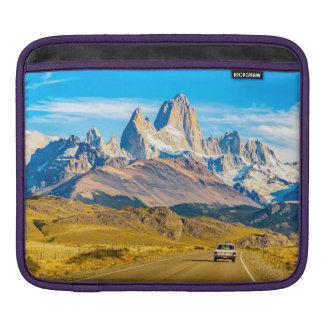 Capa De iPad Montanhas nevado de Andes, EL Chalten, Argentina