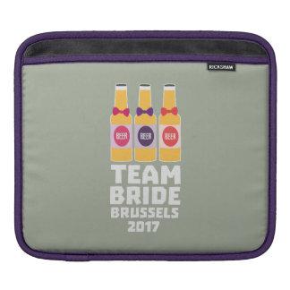 Capa De iPad Noiva Bruxelas da equipe 2017 Zfo9l