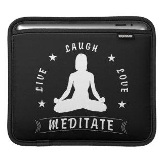 Capa De iPad O amor vivo do riso Meditate o texto fêmea