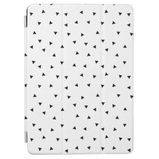 Capa de ipad preta & branca minimalista do teste