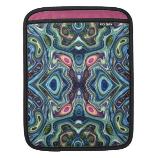 Capa De iPad Simetria das cores