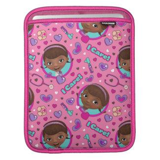 Capa De iPad Teste padrão do rosa do cuidado do Doc McStuffins