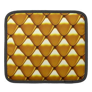 Capa De iPad Teste padrão elegante da escala do ouro