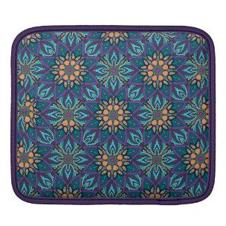 Capa De iPad Teste padrão floral do abstrato da mandala