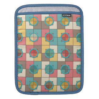 Capa De iPad Teste padrão geométrico colorido