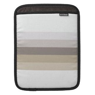 Capa De iPad Tons de listras de Brown