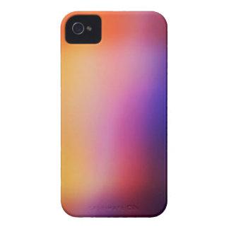 Capa de iphone 4 abstrato amarelo cor-de-rosa roxo capinhas iPhone 4