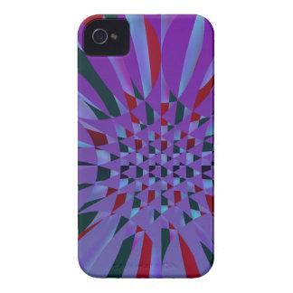 Capa de iphone 4 abstrato colorido capa para iPhone
