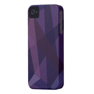 Capa de iphone 4 abstrato do roxo capas para iPhone 4 Case-Mate