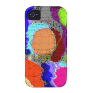 Capa de iphone 4 abstrato moderno capa para iPhone 4/4S