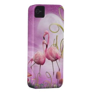 Capa de iphone 4 cor-de-rosa lunático dos capinhas iPhone 4
