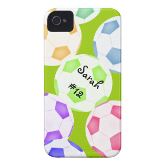 Capa de iphone 4 da bola de futebol