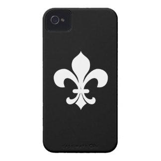 Capa de iphone 4 da heráldica Fleur-di-Lis Capa Para iPhone