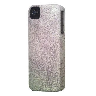 Capa de iphone 4 da pele da pele do urso polar capa para iPhone 4 Case-Mate
