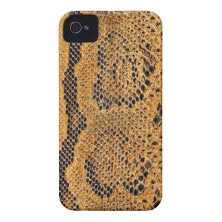 Capa de iphone 4 da pele de cobra capa para iPhone 4 Case-Mate